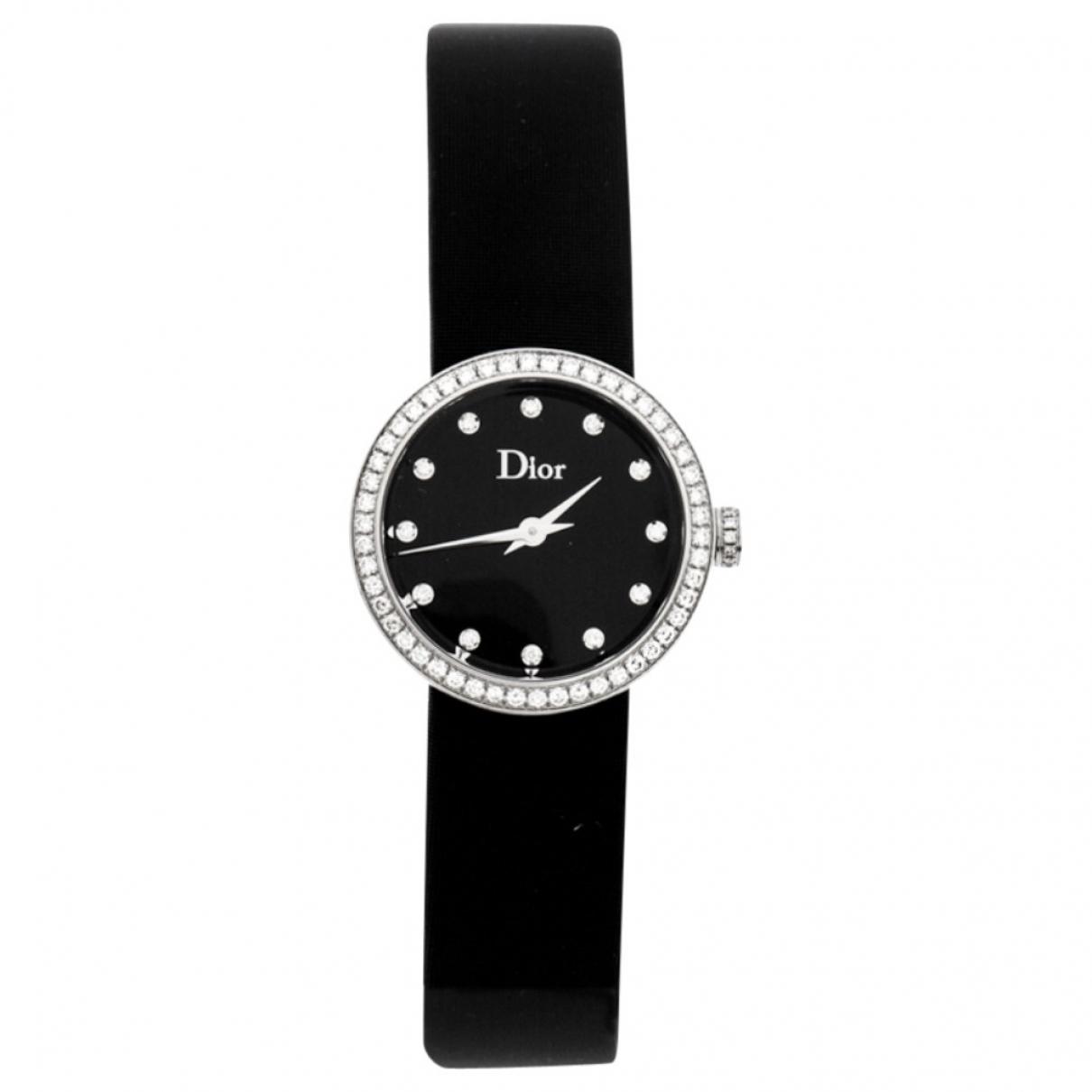 Dior \N Black Steel watch for Women \N