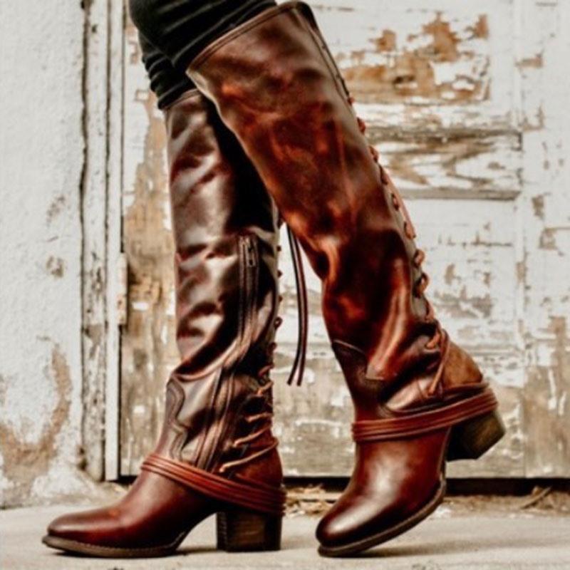 Ericdress Side Zipper Round Toe Plain Cotton Boots