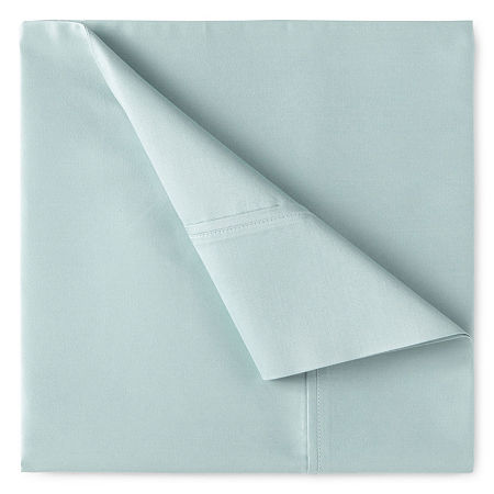 400tc Liquid Cotton Sateen Sheet Set - Liz Claiborne, One Size , Green