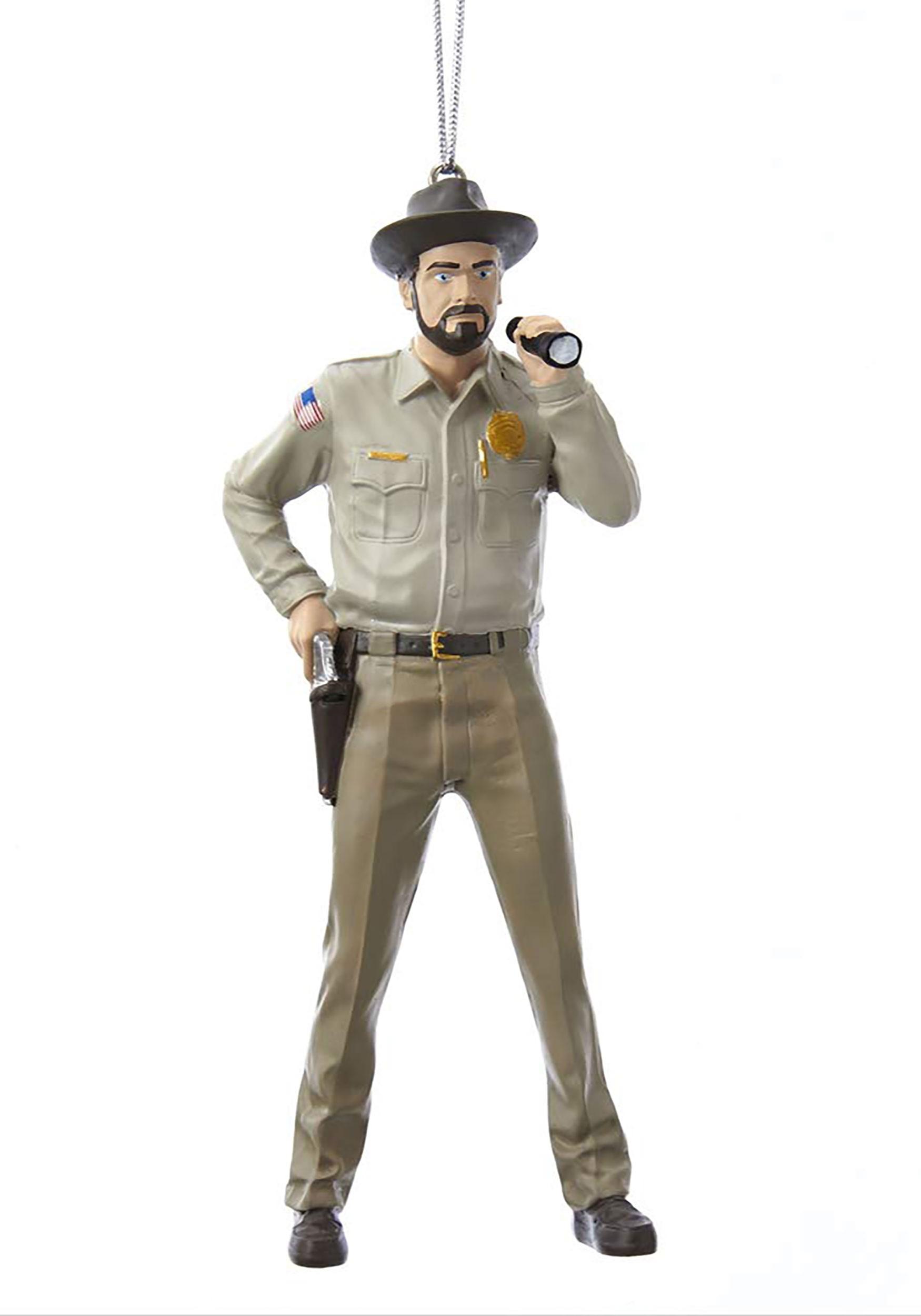 Sheriff Hopper Stranger Things Ornament