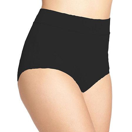 Warner's No Pinching. No Problems. Tailored Microfiber Brief Panty 5738, 8 , Gray