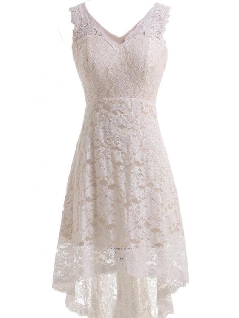 Ericdress Lace Beach Reception Wedding Dress