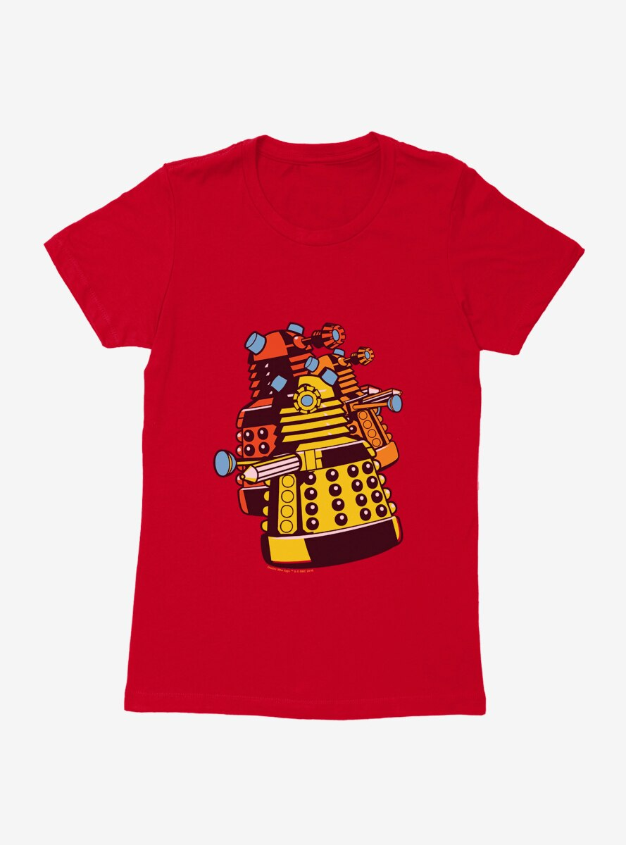 Doctor Who Dalek Gang Womens T-Shirt