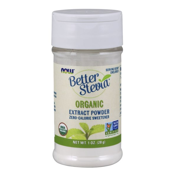 BetterStevia Extract Powder Organic 1 OZ by Now Foods
