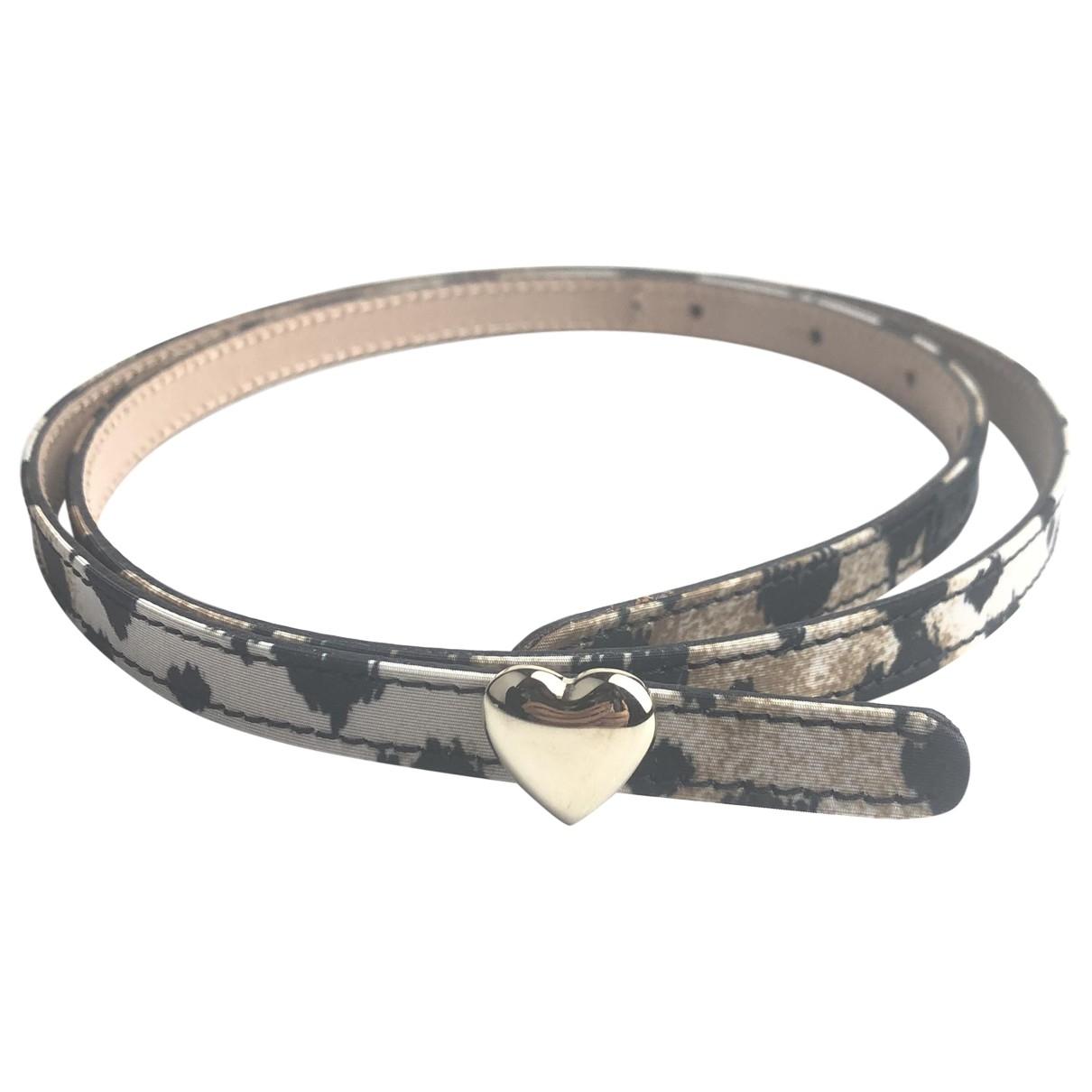 Red Valentino Garavani \N Brown Cloth belt for Women 75 cm