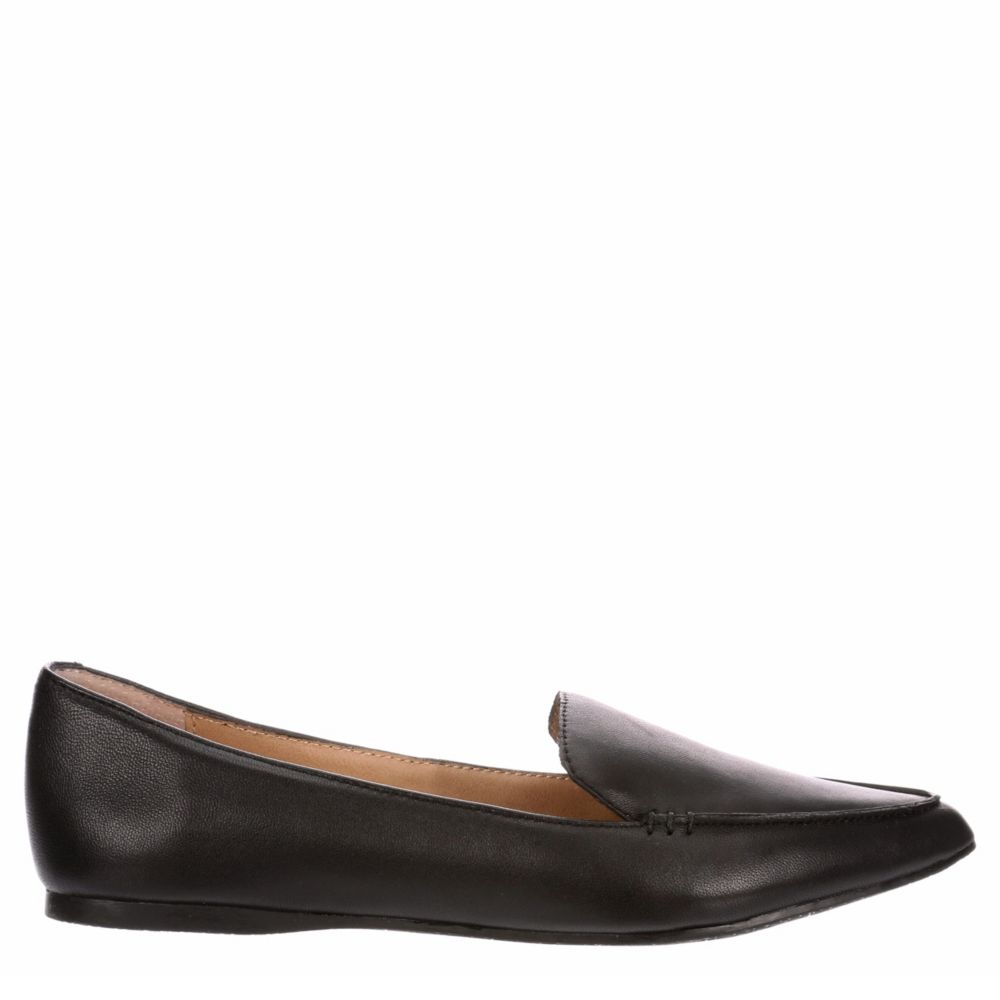 Steve Madden Womens Feather Loafer Flat