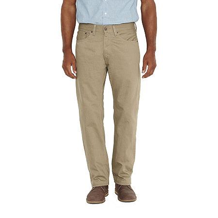 Levi's Men's 505 Regular Twill Pants, 29 32, Gray