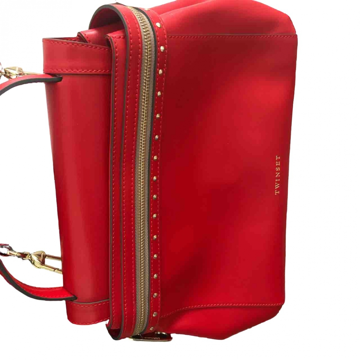 Twin Set \N Red Leather handbag for Women \N
