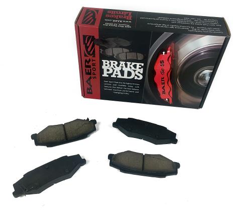Baer Brakes Brake Pads Rear 15-16 Escalade 14-16 Silverado 1500/Suburban/Tahoe 14-16 Sierra 1550/Yukon/Yukon XL
