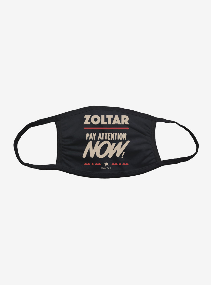 Zoltar Pay Attention Face Mask