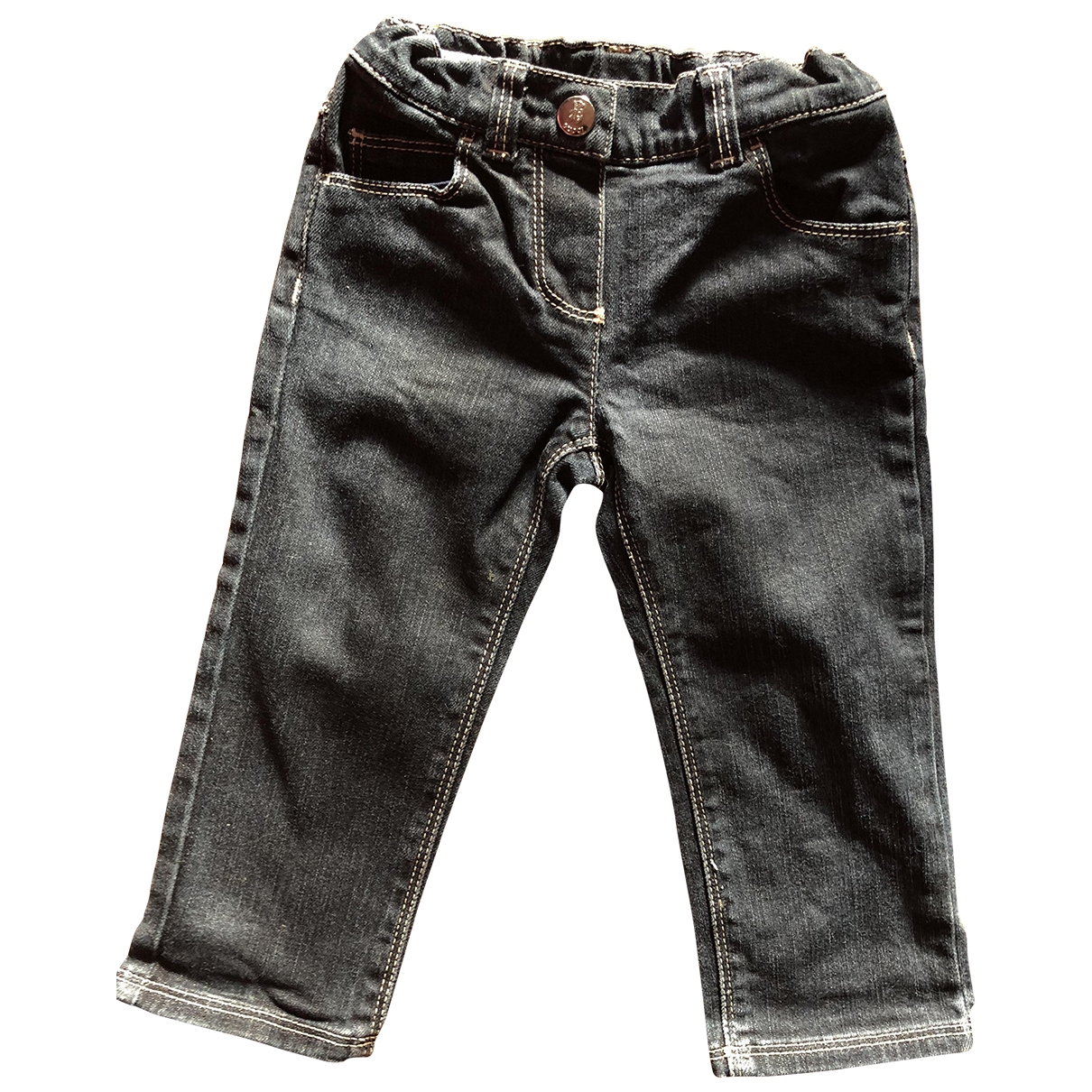Gucci \N Black Denim - Jeans Trousers for Kids 18 months - up to 81cm FR