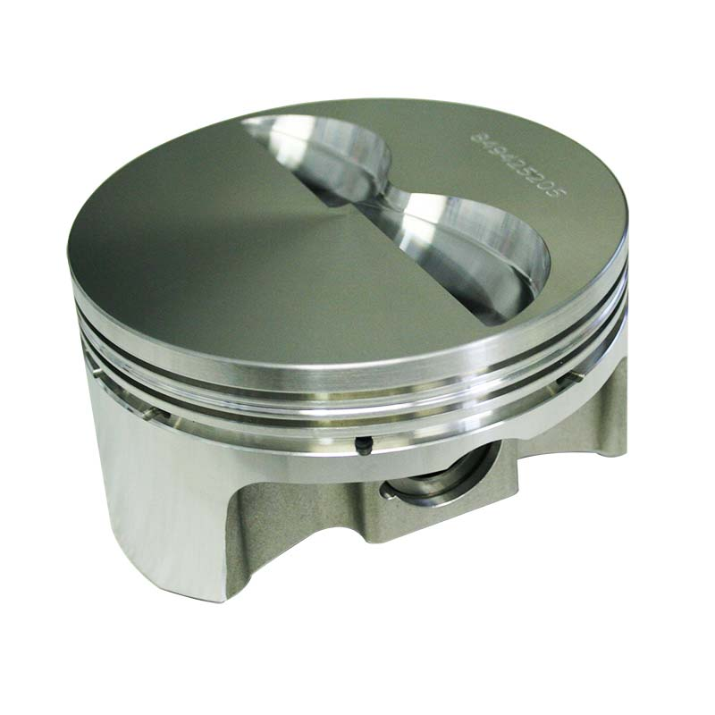 Pro Max Pistons; Chevy 262-400 2618 Forged 23 Degree Flat Top -5.0cc Howards Cams 849425205 849425205