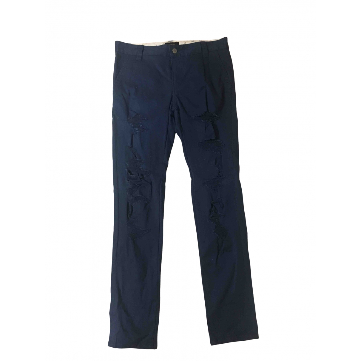 Undercover \N Blue Cotton - elasthane Jeans for Men 29 US
