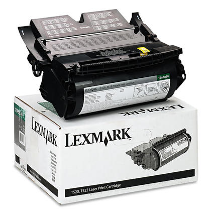 Lexmark 12A6830 Original Black Return Program Toner Cartridge