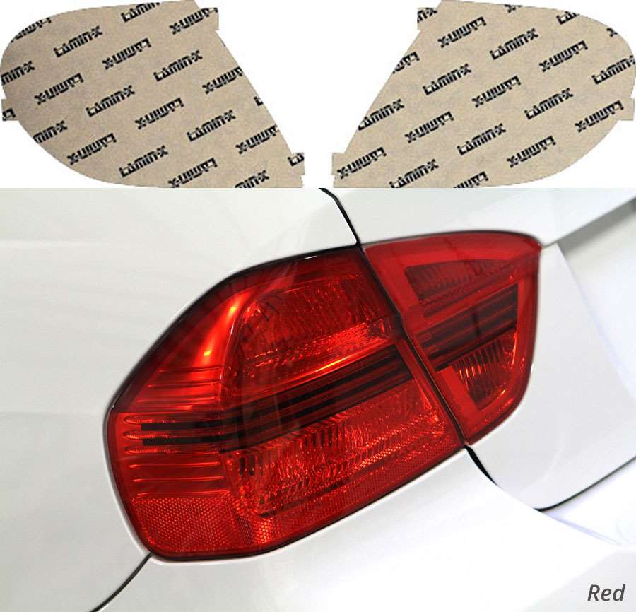 Dodge Neon/SRT-4 03-06 Red Tail Light Covers Lamin-X D301R