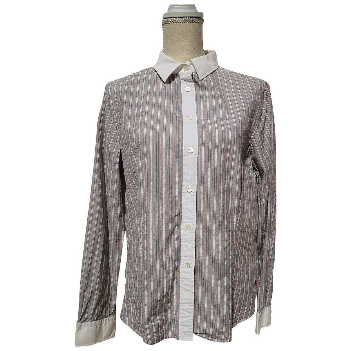 Burberry \N Grey Cotton  top for Women 48 FR