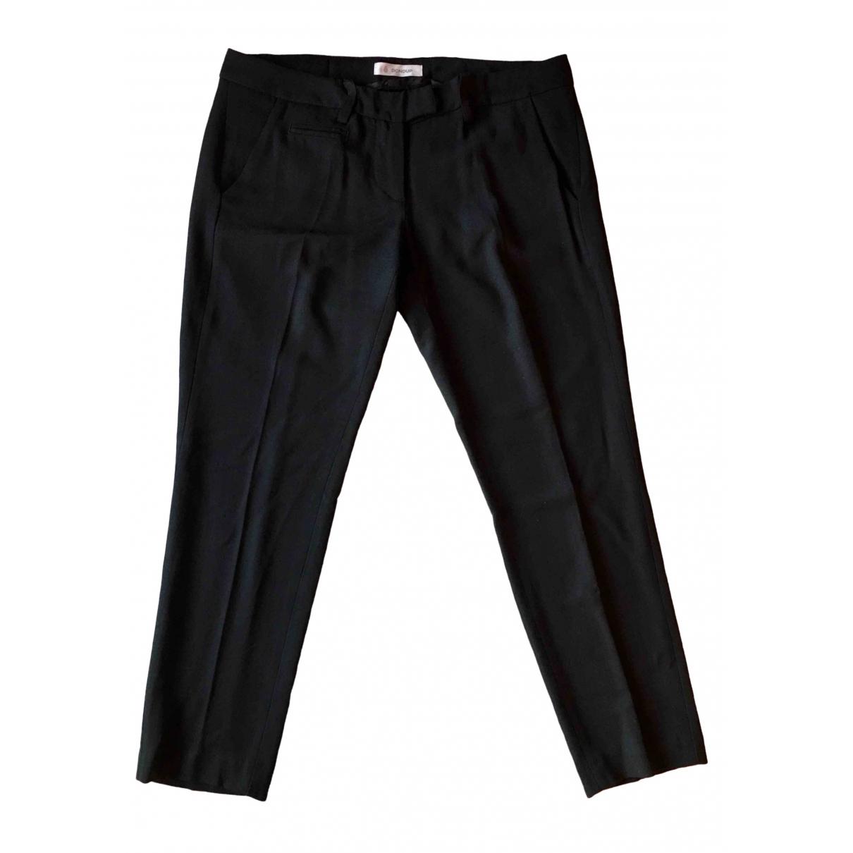 Dondup \N Blue Trousers for Women 44 IT
