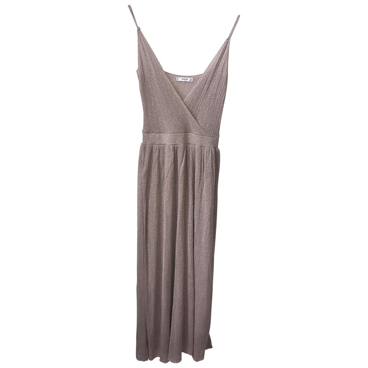 Mango \N Beige dress for Women S International