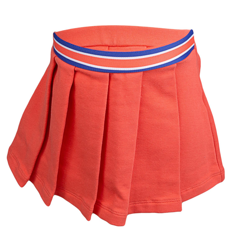 Janie And Jack Orange Pleated Skirt Skirts, Skooters & Skort - 6-12 Months