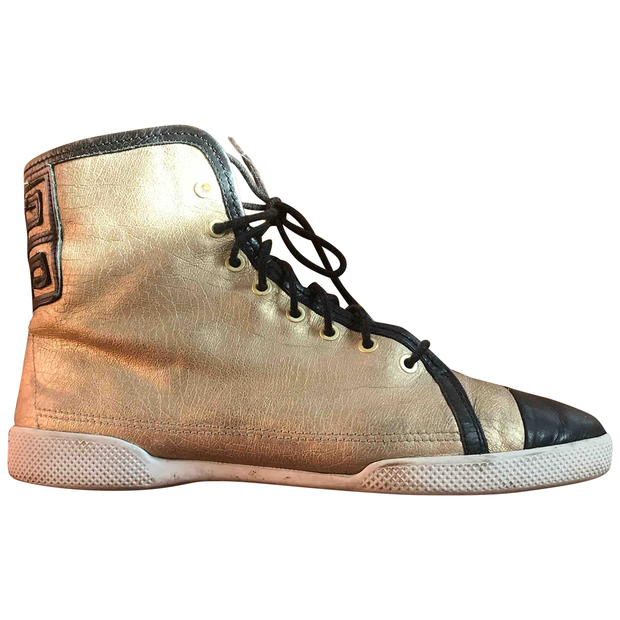 Givenchy \N Gold Leather Trainers for Women 40 EU
