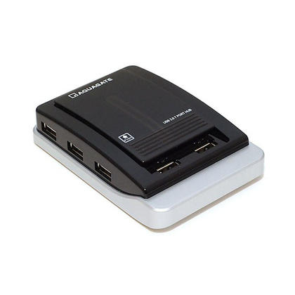 7-Port USB 2.0 Hub with AC Adapter for PC, Laptop, Mac - Monoprice®