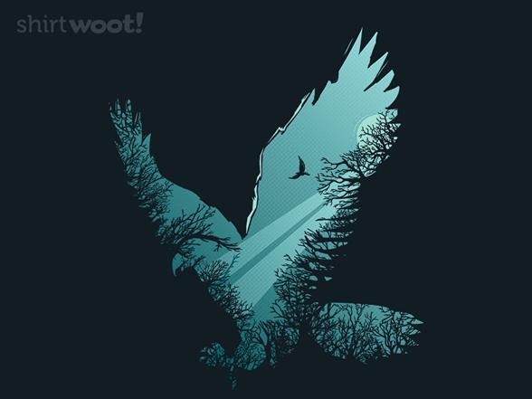 Eagle Rising T Shirt