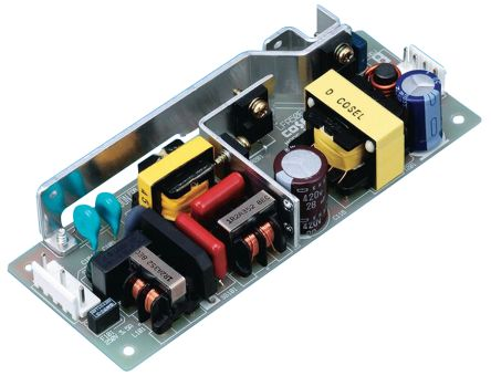 Cosel , 51.6W Embedded Switch Mode Power Supply (SMPS), 12V dc, Open Frame