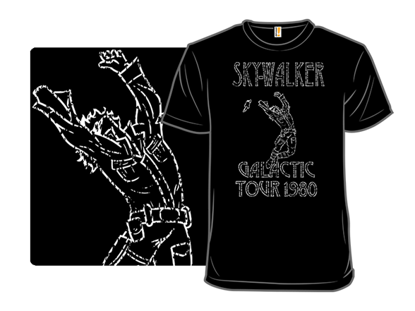 Skywalker Galactic Tour 1980 T Shirt