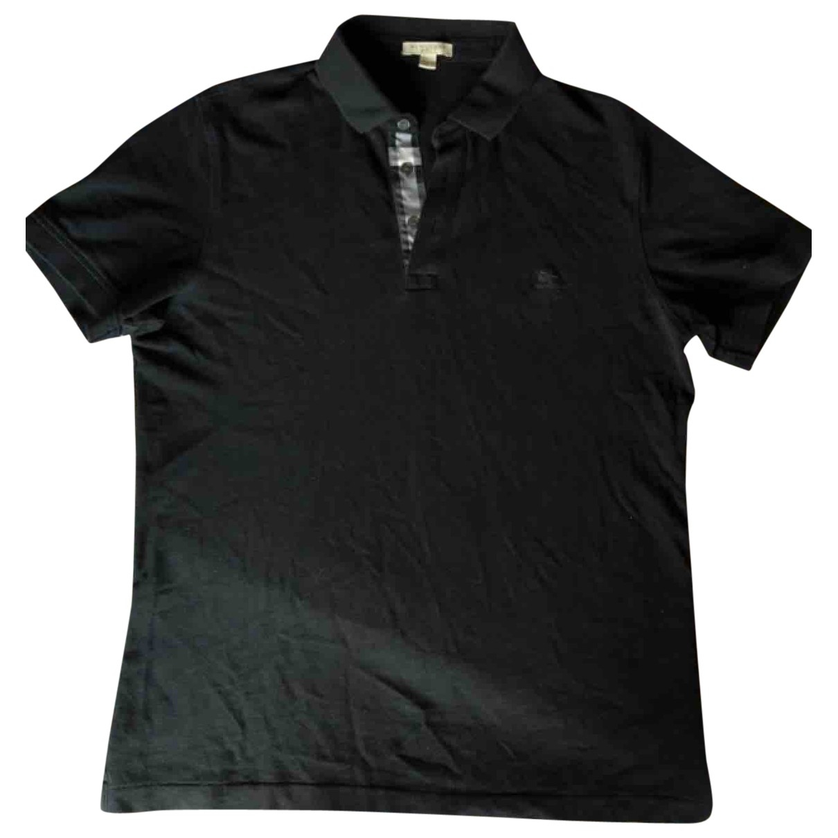Burberry \N Black Cotton Polo shirts for Men M International