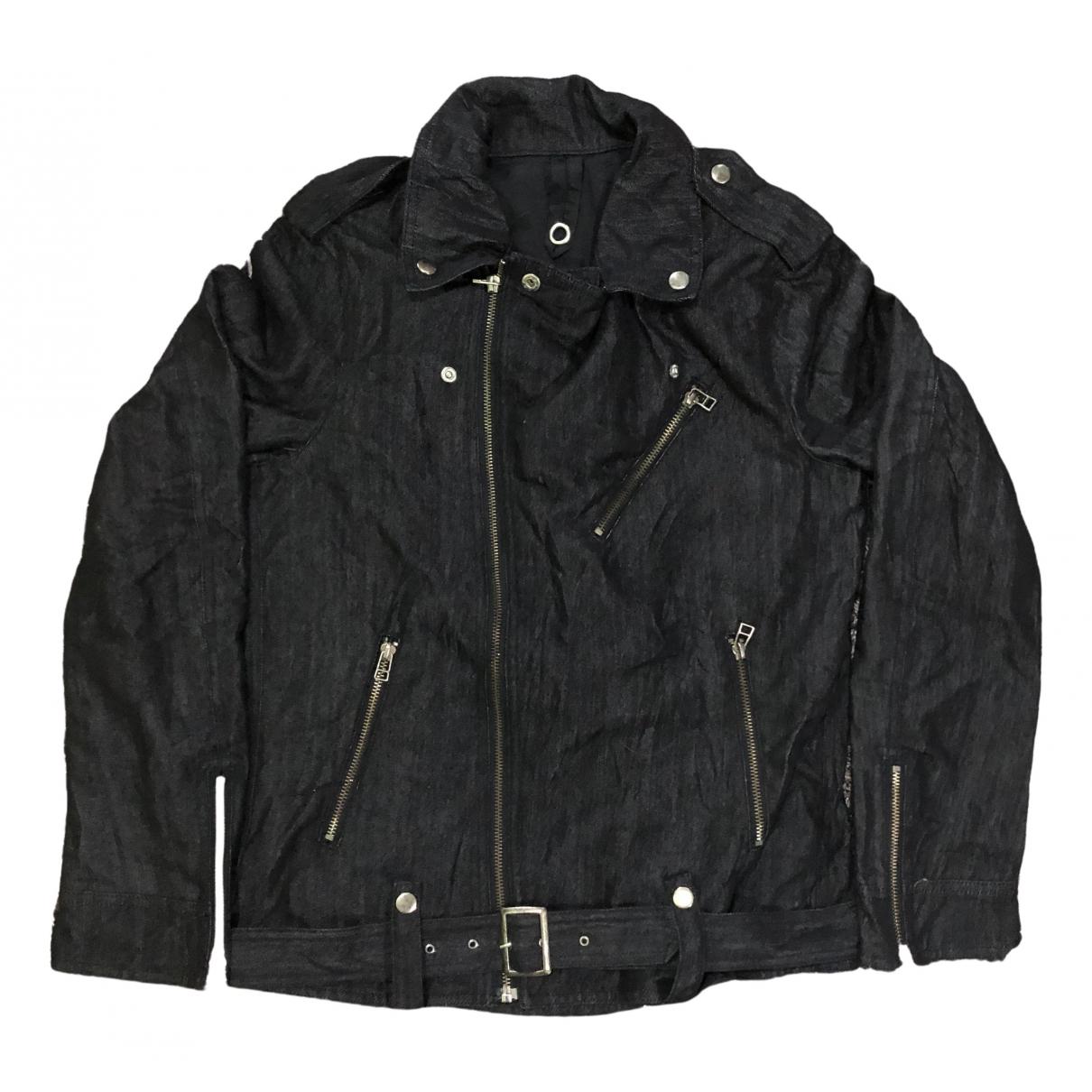 Non Signé / Unsigned \N Black Denim - Jeans jacket  for Men L International