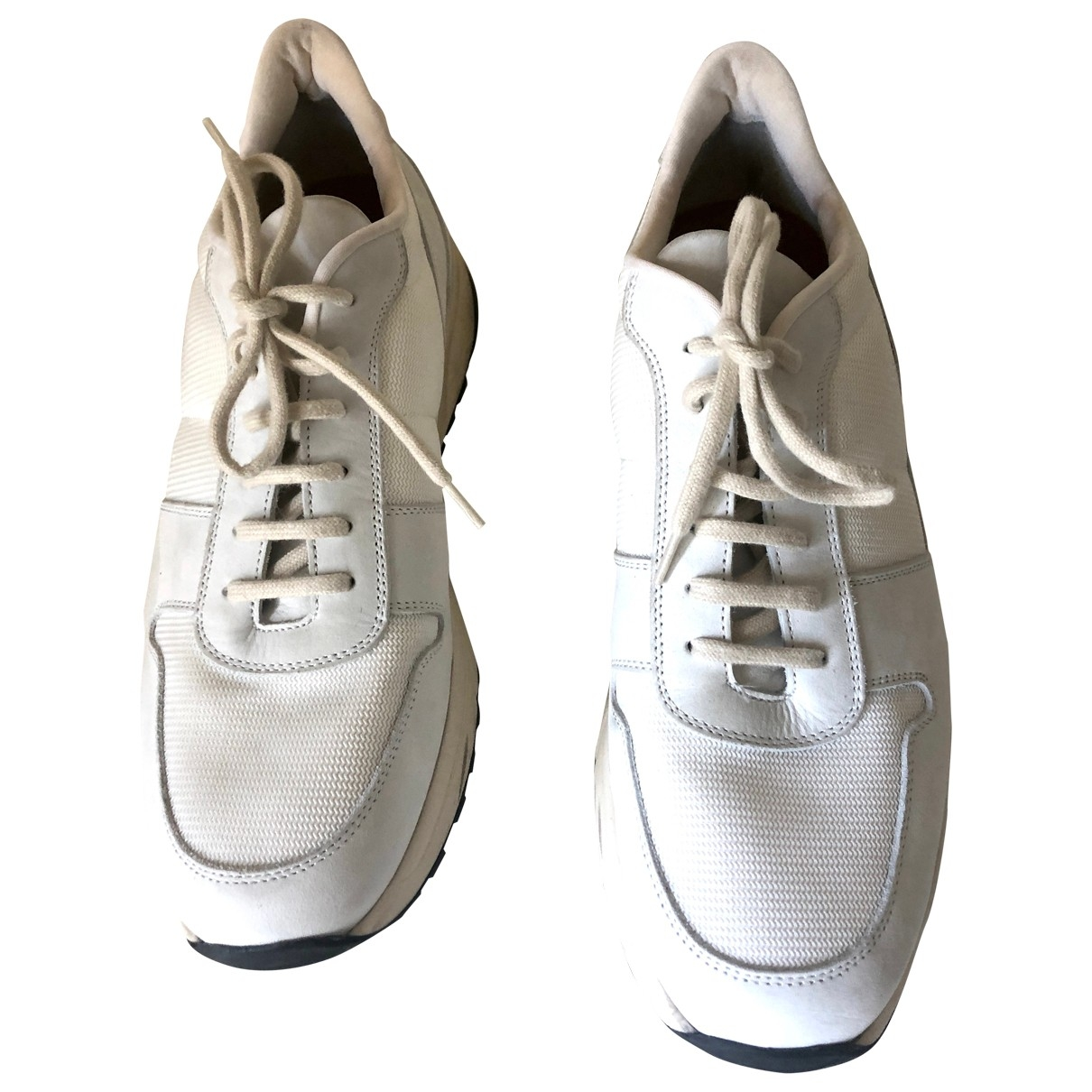 Common Projects \N White Cloth Trainers for Women 41 IT