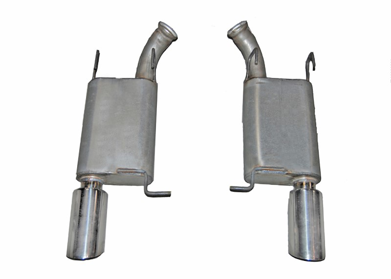 Gibson Performance 619010 Stainless Axle Back Dual Exhaust System