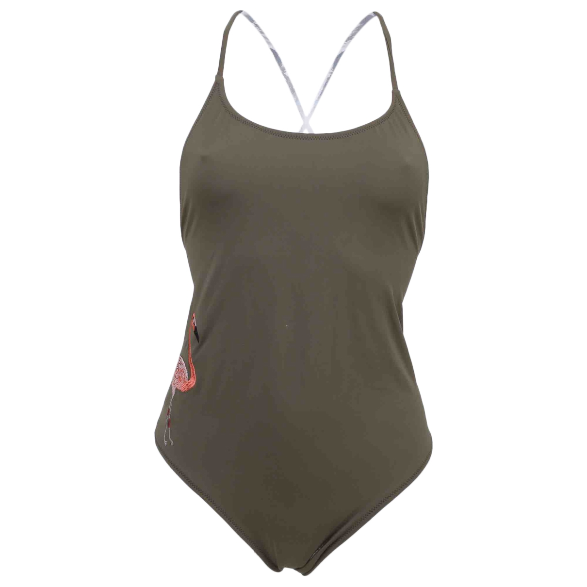 Non Sign?? / Unsigned \N Green Swimwear for Women 42 IT