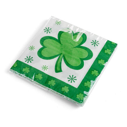 St.Pat's 16ct. Luncheon Napkins , 2ply, 13