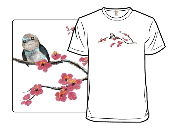 Spring Blossoms On Ahch-to T Shirt