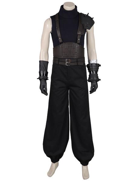 Milanoo Final Fantasy VII Cosplay Costumes Cloud Strife Final Fantasy Remake Version Cosplay