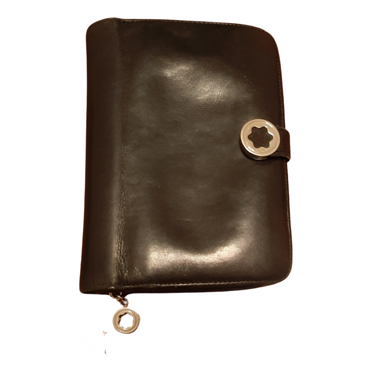 Montblanc N Black Leather wallet for Women N