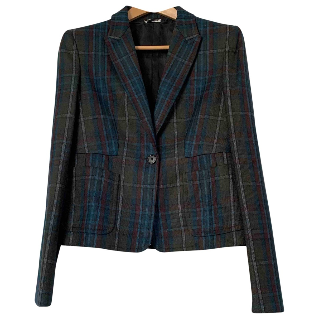 Miu Miu \N Wool jacket for Women 44 FR