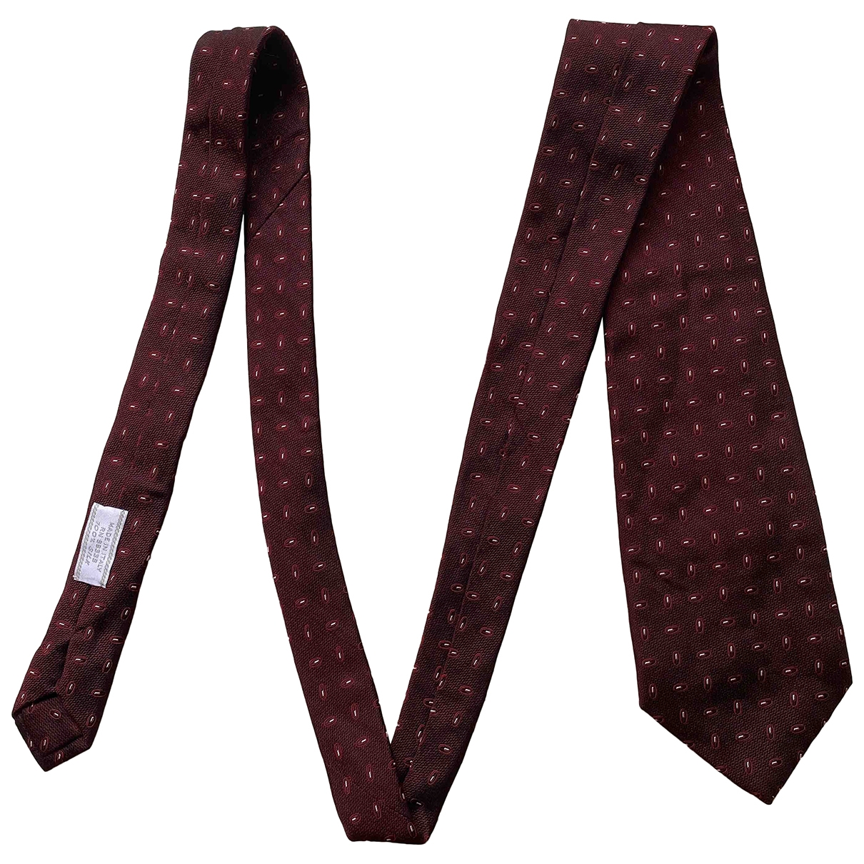 Prada \N Red Silk Ties for Men \N