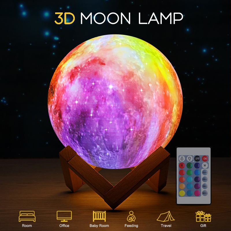 Star Night Light Universe LED Night Lights Lamp For Kids Gifts