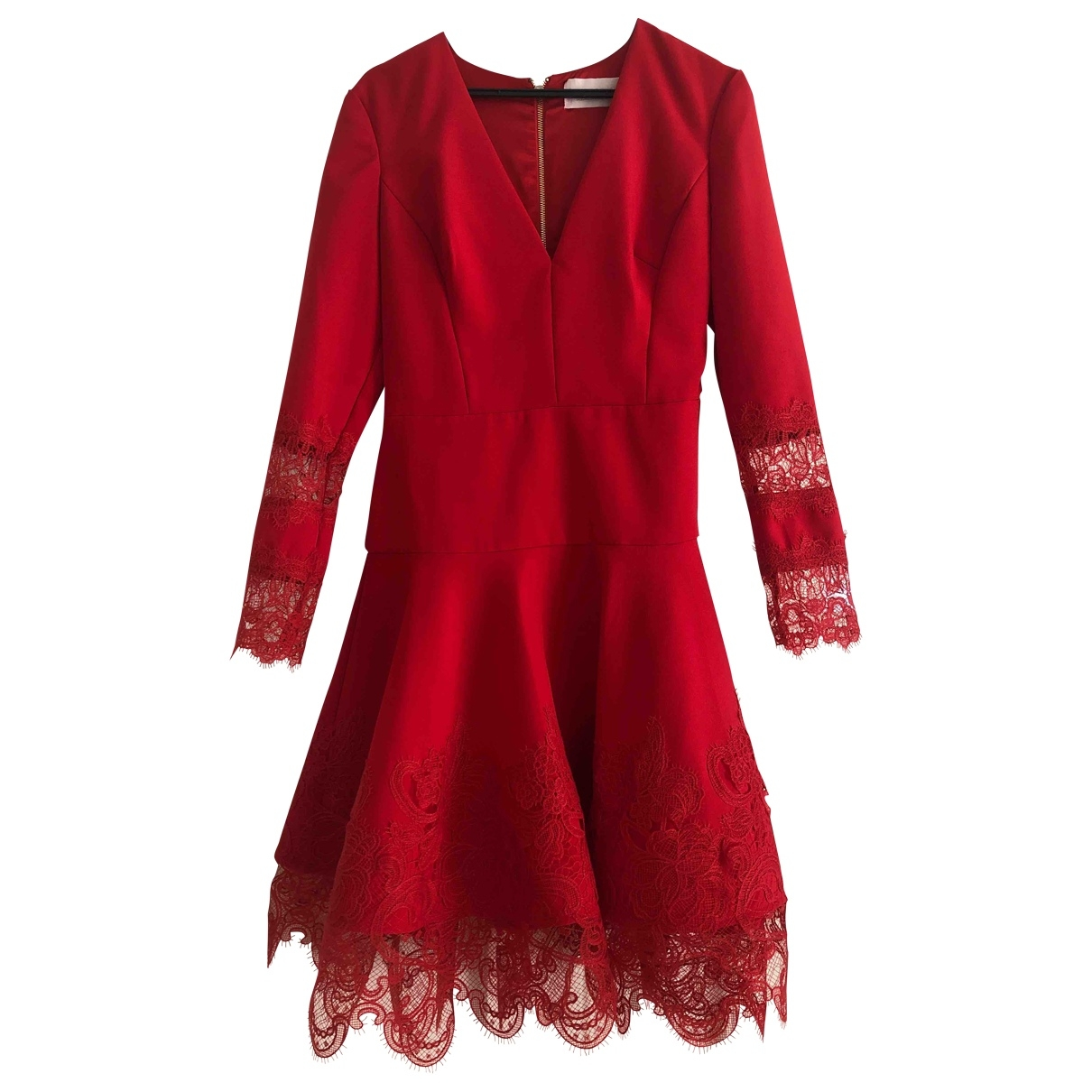 Non Signé / Unsigned \N Red dress for Women L International