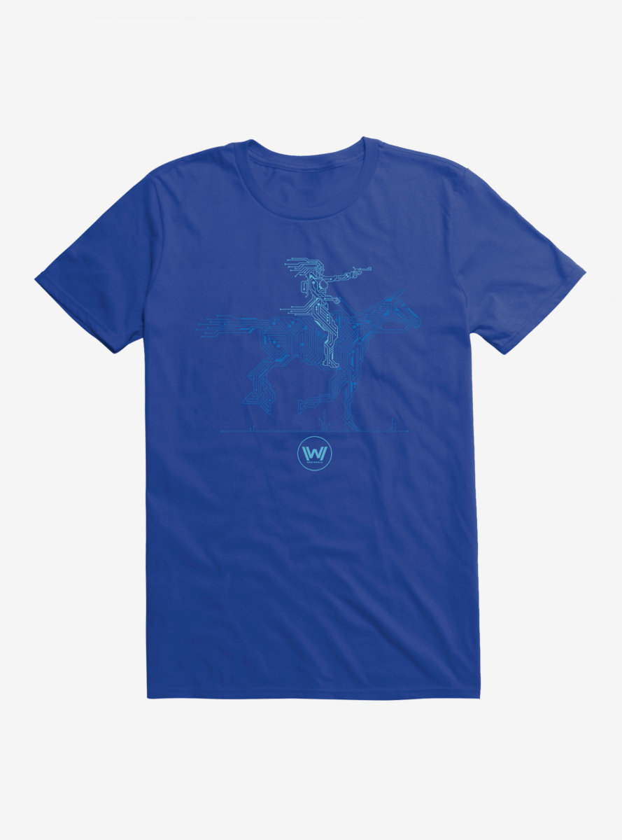 Westworld Android And Horse T-Shirt