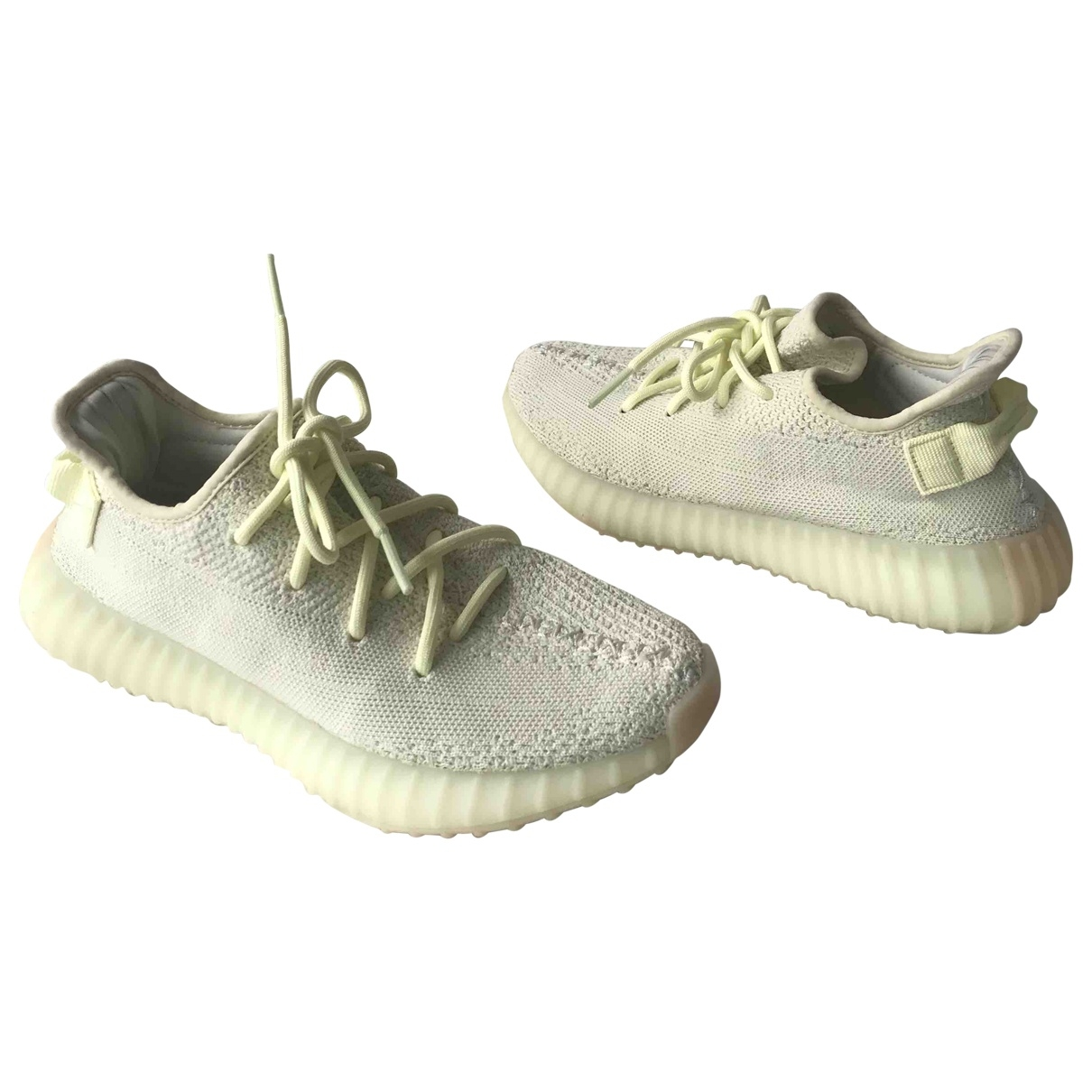 Yeezy X Adidas Boost 350 V2 Yellow Cloth Trainers for Women 40 EU
