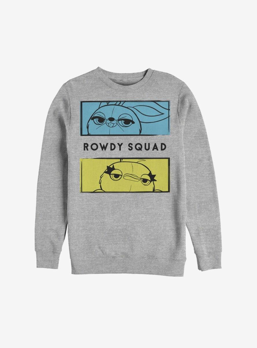 Disney Pixar Toy Story 4 Rowdy Boxes Sweatshirt