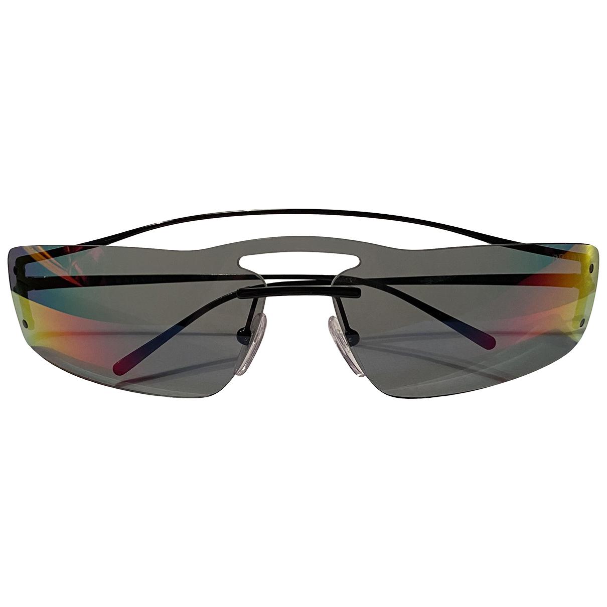 Prada \N Metallic Metal Sunglasses for Women \N