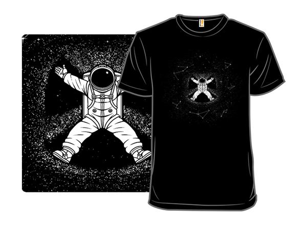 Gravity Snow Angel T Shirt