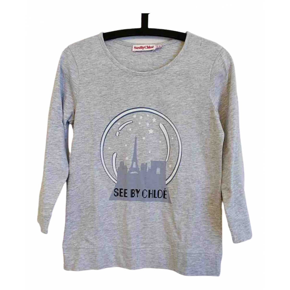 See By Chloé \N Grey Cotton  top for Women 40 IT