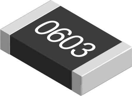 Yageo 2.2 kO, 2.2 kO, 0603 (1608M) Thick Film SMD Resistor 5% 0.1W - AC0603JR-072K2L (5000)