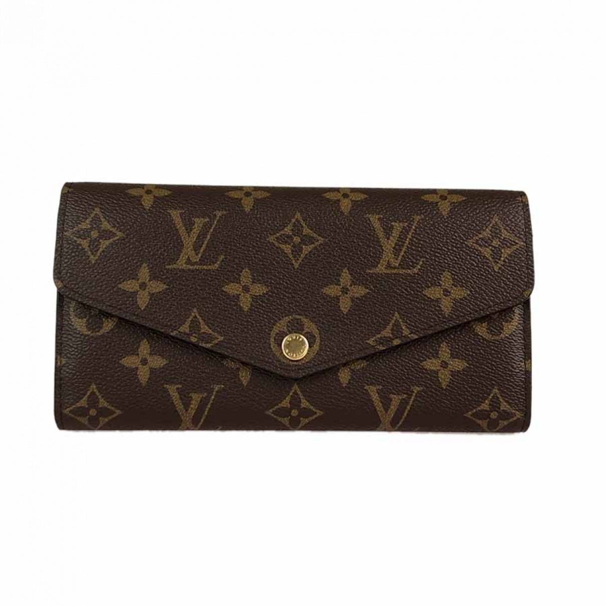 Louis Vuitton Sarah Brown Cloth wallet for Women \N