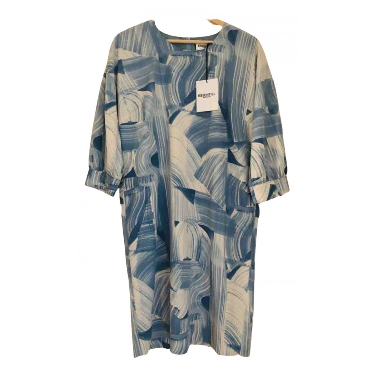 Essentiel Antwerp \N Blue dress for Women 38 FR